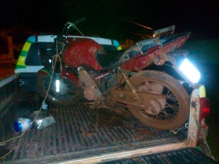 Detento com saída temporária rouba moto e é preso pela PM