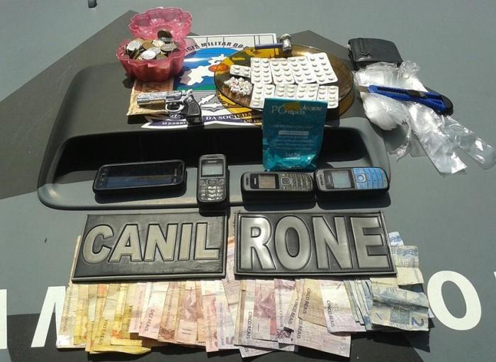 Operação Saturação apreende drogas em Parnaíba