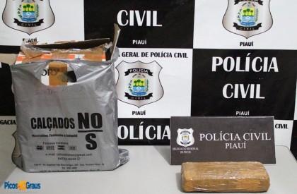 Polícia Civil apreende cocaína em ônibus clandestino em...