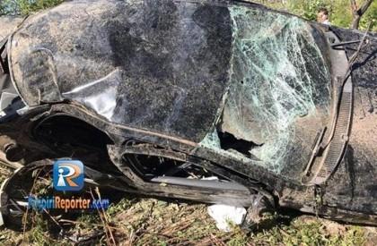 Acidente deixa cinco pessoas feridas na BR 343