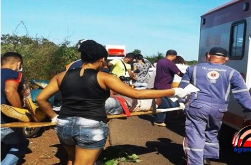 Acidente entre duas motos deixa feridos entre Barras e Batalha