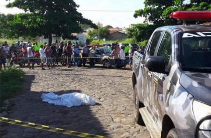 Comerciante é morto a tiros durante assalto em Piripiri