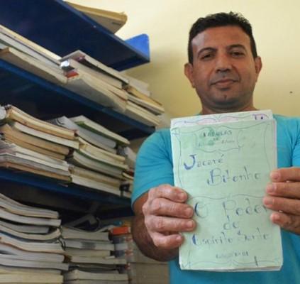 Detento lançará coletania de livros no Salipi...