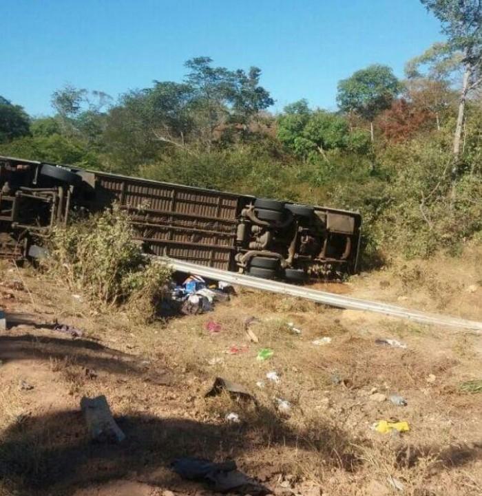 PRF confirma 09 vítimas fatais em acidente na BR-135