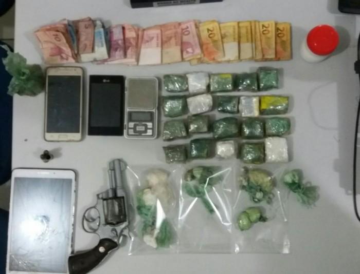 Polícia prende casal foragido da operação Mercador
