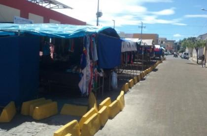 Prefeitura organiza a feira livre em Pedro II
