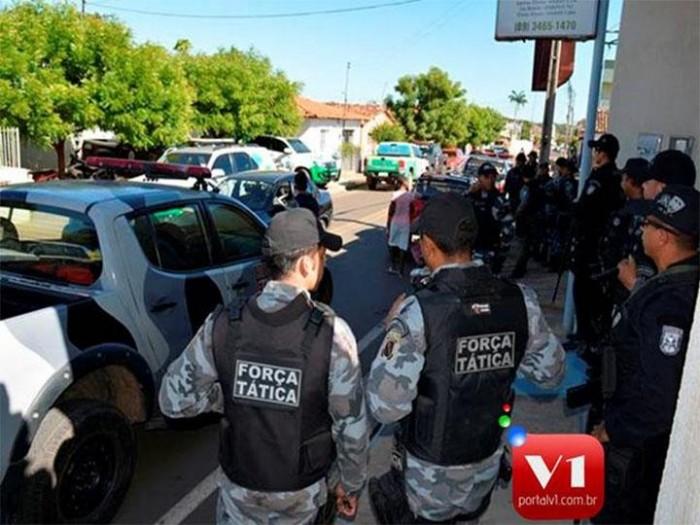Quatro pessoas são detidas em operação da PM em Valença