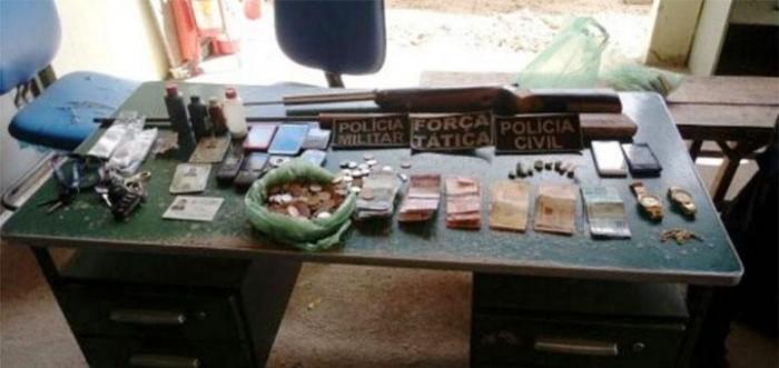 Seis pessoas são presas acusadas de tráfico de drogas em Alagoinha do PI