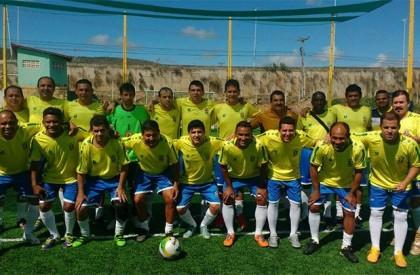Seleção Brasileira Máster fará amistoso com a Seleção Aguabranquense