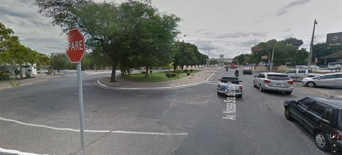Strans realiza modificações em trânsito da rotatória da UFPI