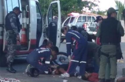 Assaltante morre em acidente após perseguição em Floriano