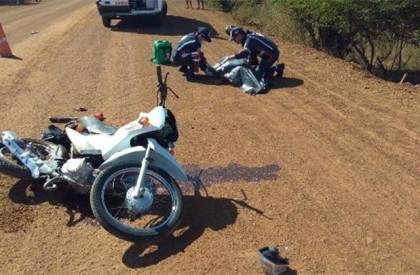 Colisão entre moto e caçamba deixa uma pessoa morta em Ilha Grande do PI