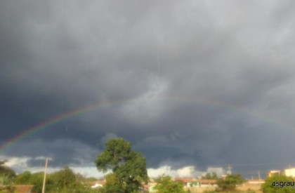 Frente fria: Fim de semana com chuvas em Pedro...