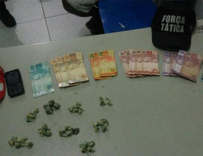 Homem é preso com grande quantidade de drogas em José de Freitas