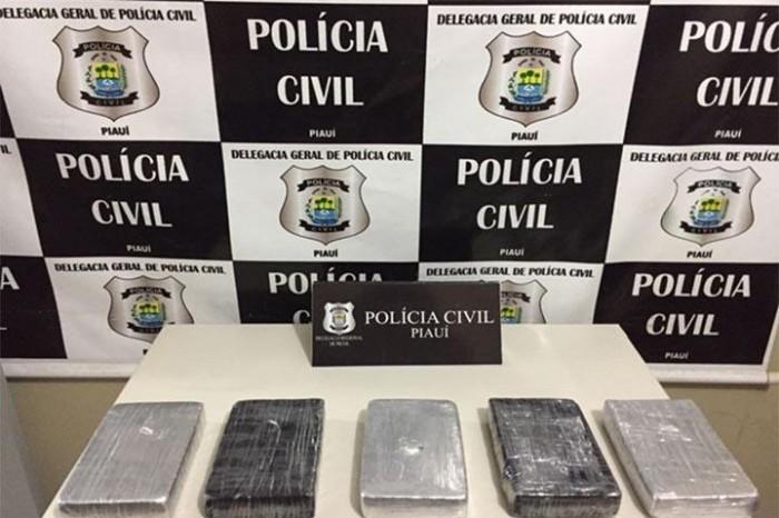 Polícia apreende droga avaliada em R$ 450 mil em Picos