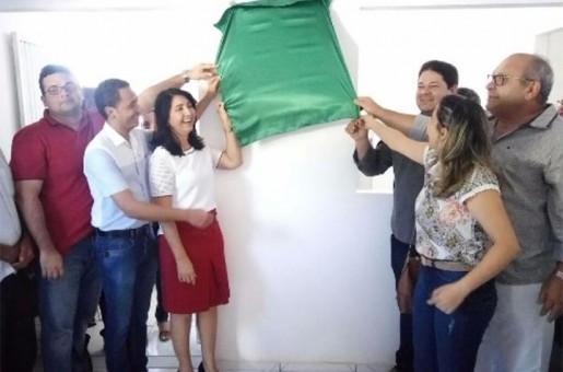 Prefeitura de Valença entrega posto de saúde no bairro Valentim