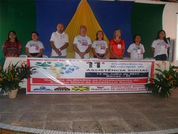 Secretaria de Assistência Social realiza conferência em Barras