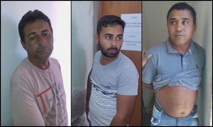 Trio é preso realizando assaltos em São Raimundo Nonato