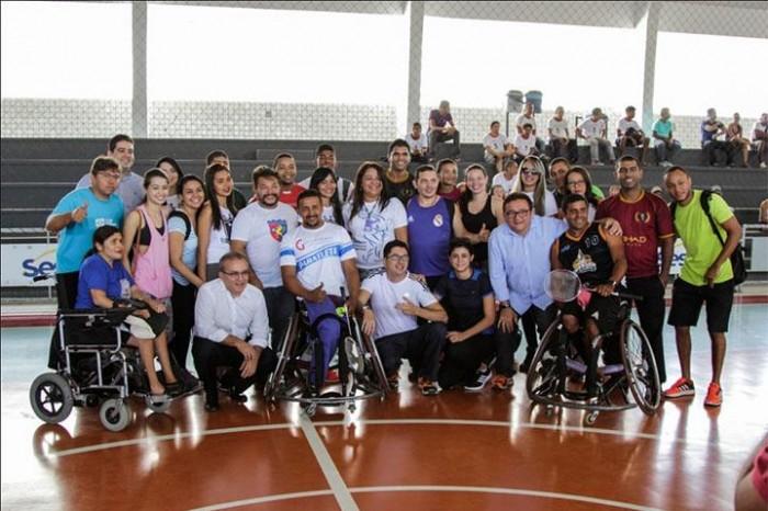 9ª edição da Copa Paralímpica de Teresina foi aberta nesta sexta (11)