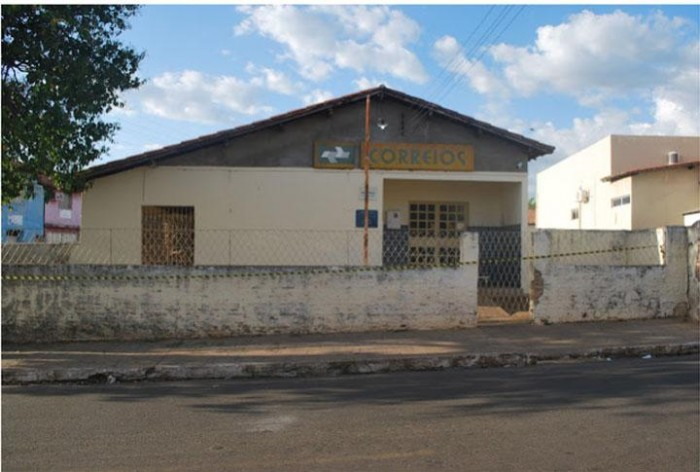 Agência dos correios é invadida por bandidos em Luzilândia