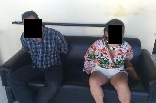 Casal é preso com veículo roubado e drogas em Parnaíba