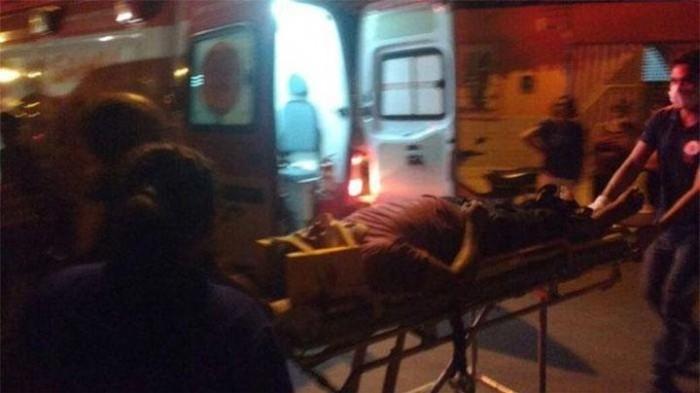 Colisão entre carro e motocicleta deixa uma pessoa ferida