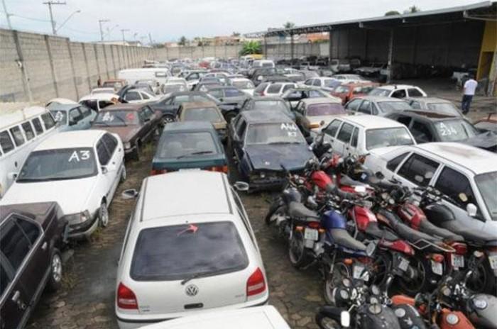 Leilão de veículos será realizado em Teresina e Floriano