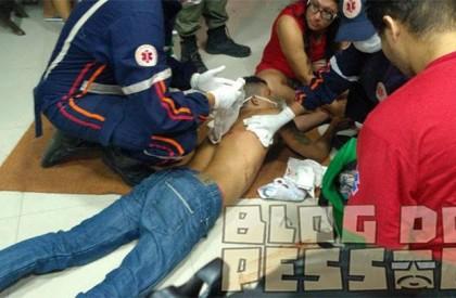 Homem é baleado nas costas após reagir a assalto em Parnaíba
