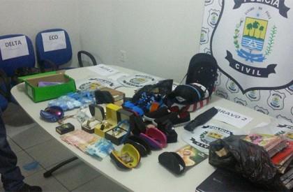 Operação desbarata quadrilha de tráfico de drogas em Floriano