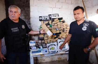 Polícia apreende mais de 200 kg de drogas na...