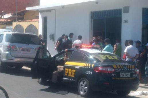 Polícia captura fugitivo acusado de assalto a banco em Parnaíba