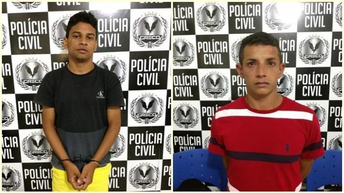 Polícia prende dois acusados de explosões de caixas eletrônicos