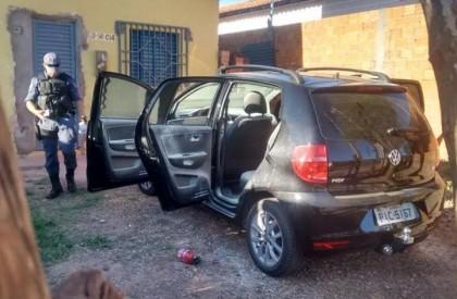 Timon: Polícia localiza carro usado no arrombamento à Caixa