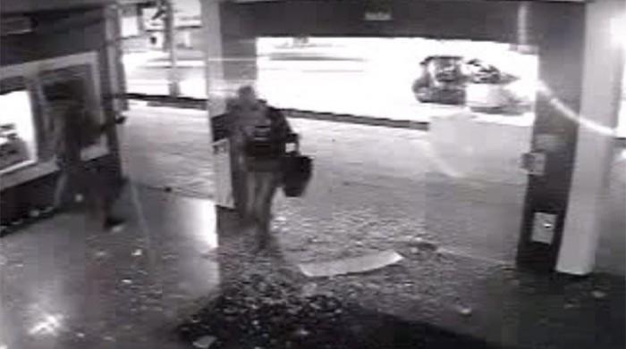 Vídeo mostra explosão de agência da Caixa Econômica de Timon