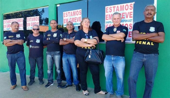 Com agentes penitenciários em greve Estado reforça segurança nos presídios