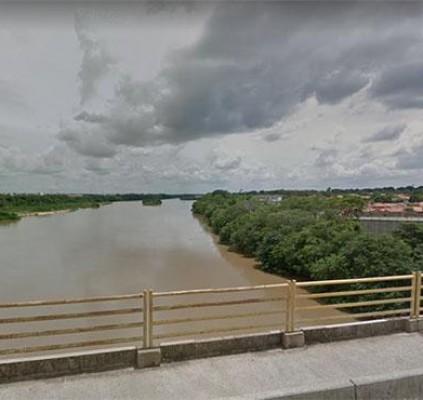 Corpo em decomposição é encontrado no rio...