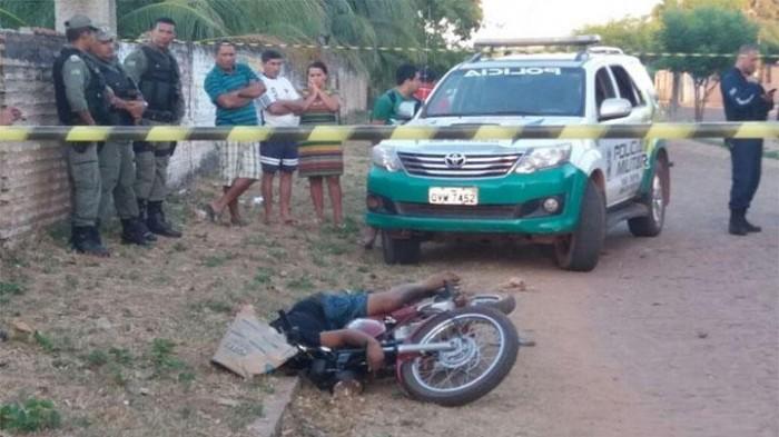 Homem é assassinado com vários tiros em José de Freitas