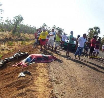 Motociclista morre em acidente em Ilha Grande...