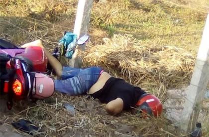 Mototaxista é perseguido e executado com seis tiros em...
