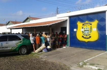 Operação garante entrada de visitas com sacolas na Penitenciaria de Parnaíba