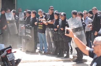 Secretário acusa agentes de se rebelarem contra o estado