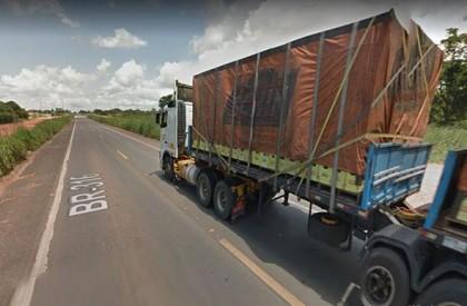 THE: Caminhoneiro morre após ser atropelado por motocicleta na BR-316