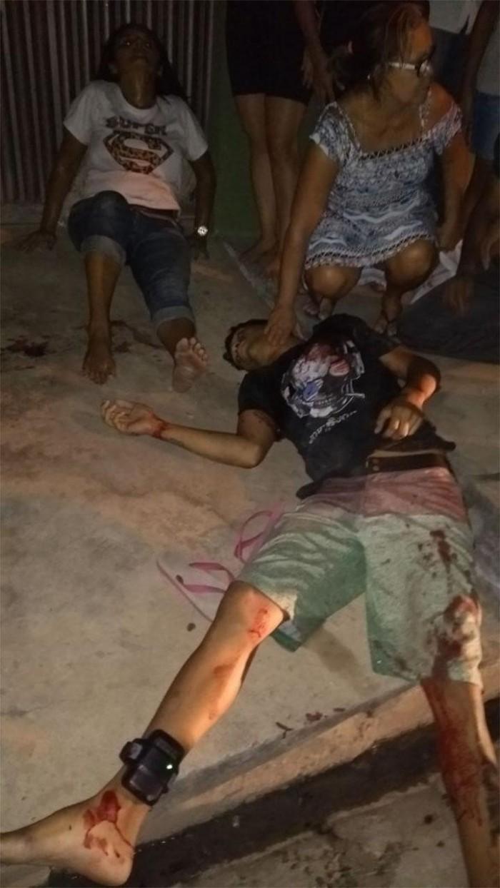 Bandido é morto e mãe é baleada ao tentar protegê-lo em THE