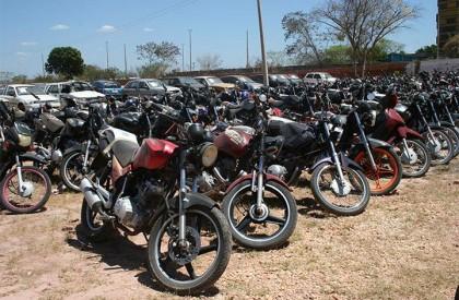 Detran abre leilão de 152 veículos nesta terça-feira (17)