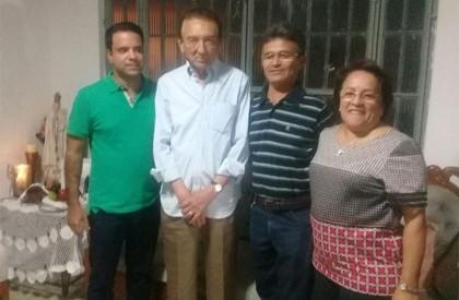 Edison Lobão visita Timon e reforça estratégia do PMDB para 2018