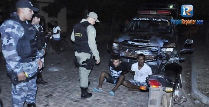Fugitivos da penitenciária de Esperantina são presos realizando assaltos em Piripiri