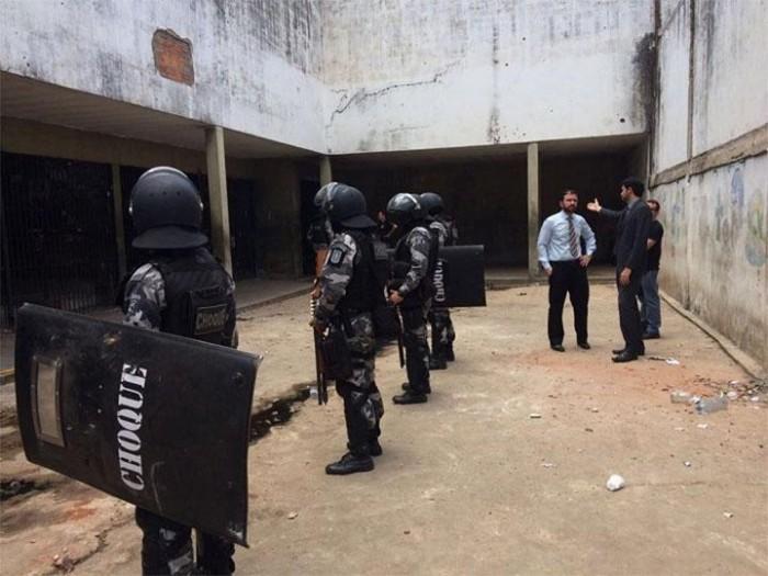 MP realiza vistoria na Penitenciária de Esperantina após rebelião
