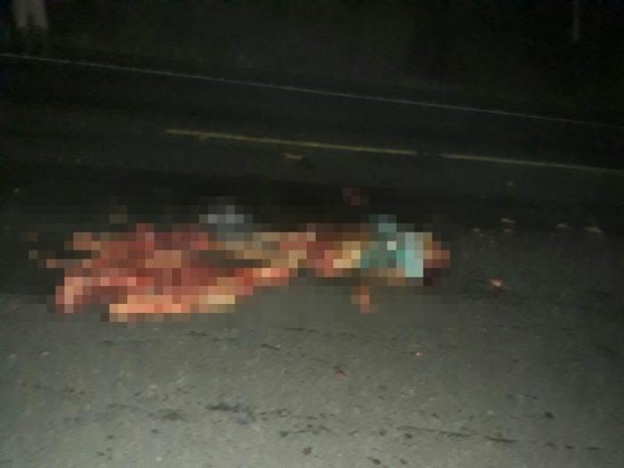 Mulher morre esmagada ao tentar atravessar BR na zona rural de Caxias