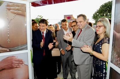 Wellington inaugura centro de parto normal em Parnaíba