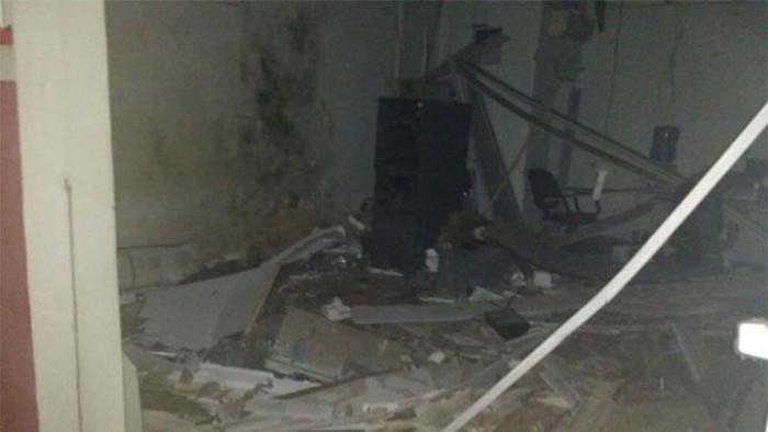 Bando armado explode agência do banco Bradesco em Caracol